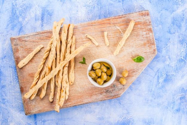 Lunch of snack in italiaanse stijl