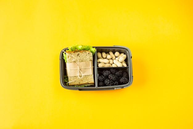 Lunchbox met eten