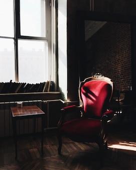 Luxe appartement met blinde muren, zonder mensen. prachtig interieur. kalme sfeer