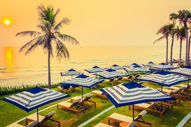 Luxe hotel hemel achtergrond