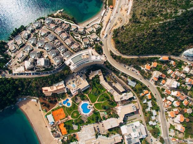 Luxe hotelcomplex dukley in budva montenegro schieten met