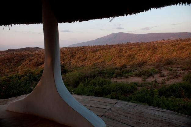 Luxe lodge in kenia