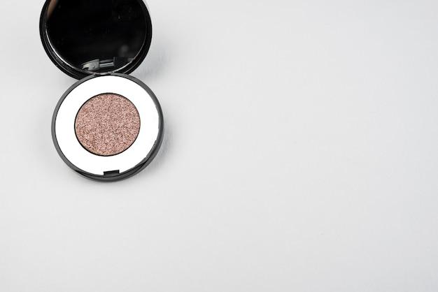 Luxe make-up met kopie ruimte