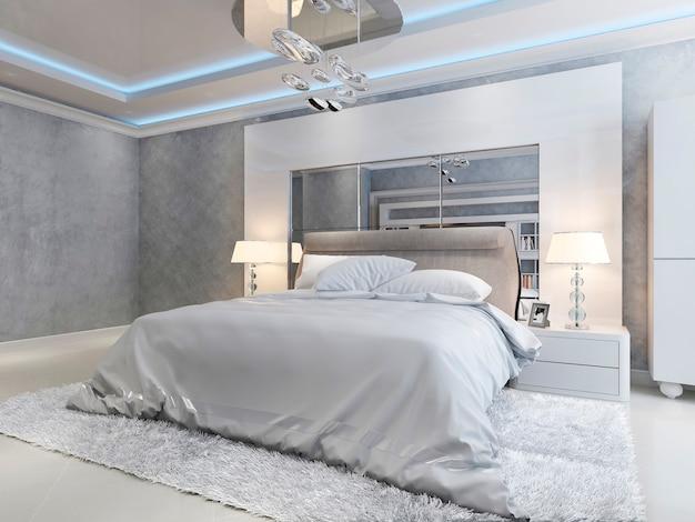 Luxe slaapkamer moderne stijl