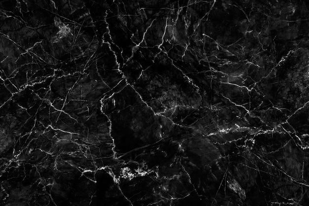 Luxe van zwarte marmeren textuur en achtergrond voor het kunstwerk van het ontwerppatroon.