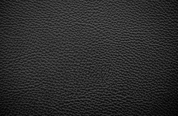 Luxe zwarte lederen textuur achtergrond