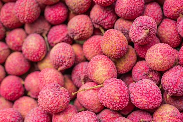 Lychee fruitclose-up
