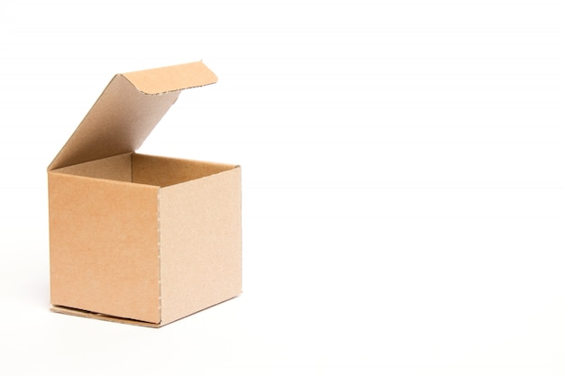 Maak een lege doos leeg