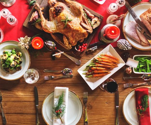 Maaltijd vorken familiekamer champagne cuisine