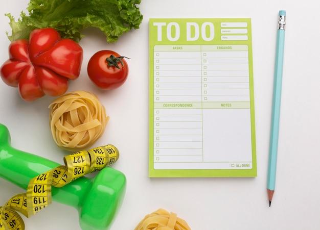 Maaltijdlijst en voedselsamenstelling