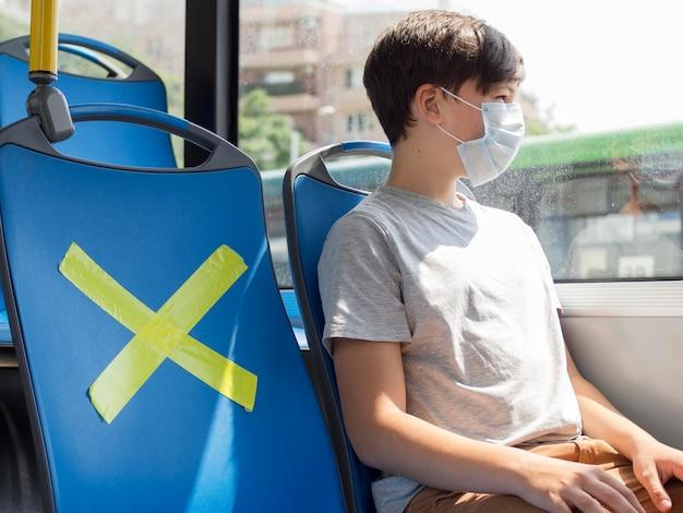 Maatschappelijke afstand in openbaar vervoer