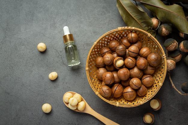 Macadamia-olie voor een ontspannende behandeling