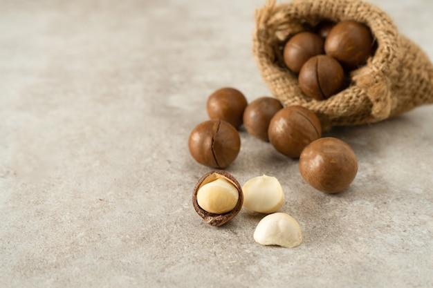 Macademia noten.