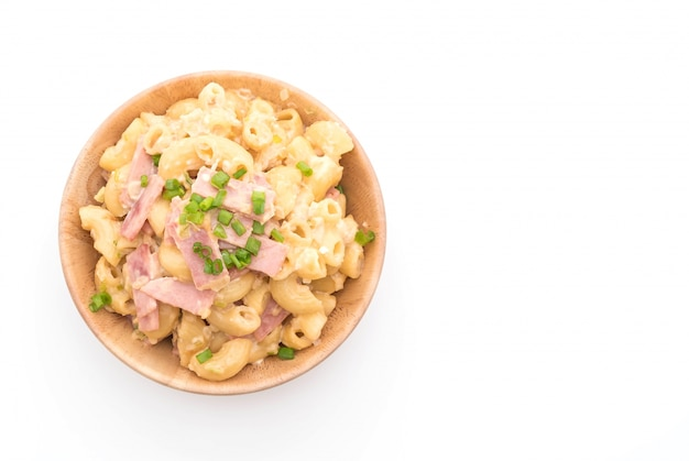 Macaroni kaas en ham