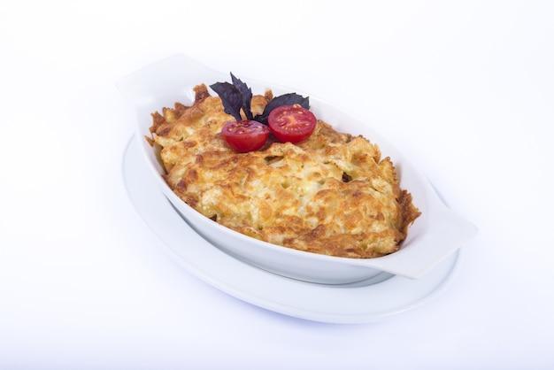 Macaroni kaas lasagne