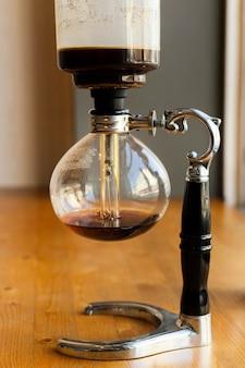 Machine maakt heerlijke koffie