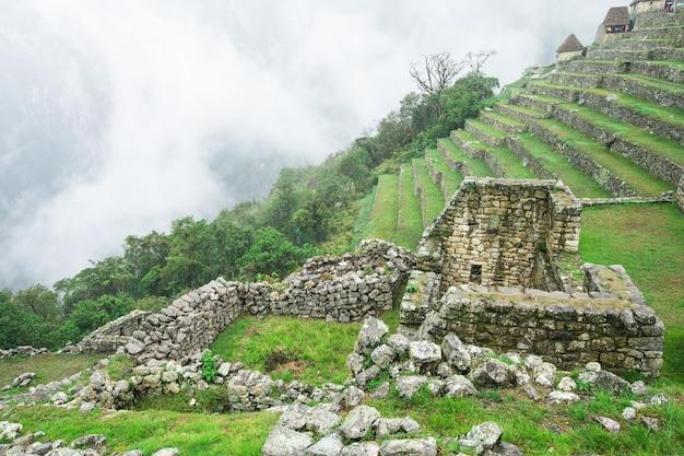 Machu picchu, een unesco-werelderfgoed