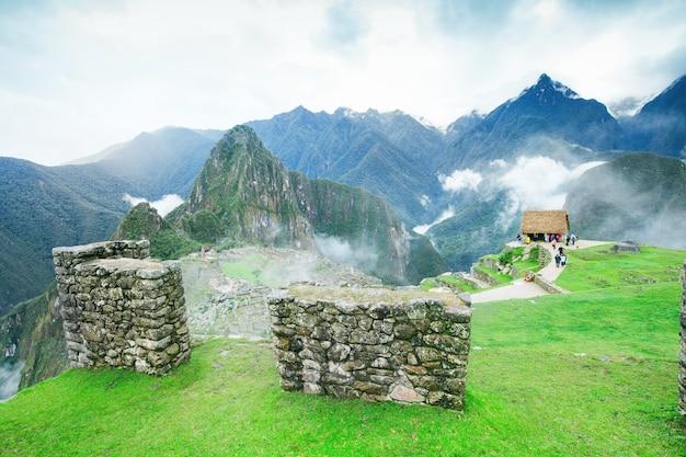 Machu picchu landschap