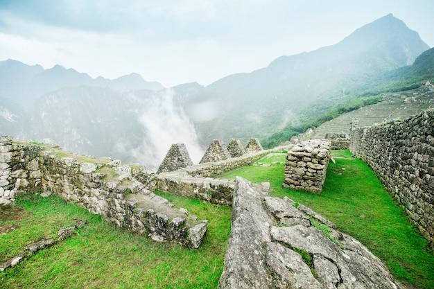 Machu picchu-ruïnes