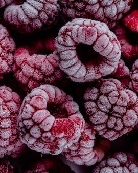 Macro bevroren fruitregeling