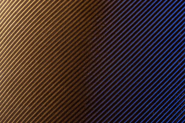 Macro kleurrijk veerpatroon