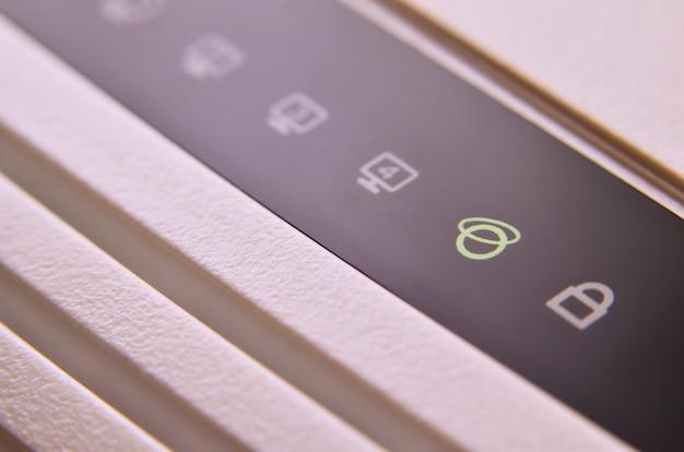 Macro-opname van internet-modem