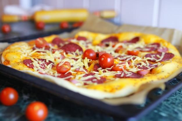 Macro pizza toppings