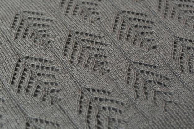 Macropatroon van gebreide damessweater