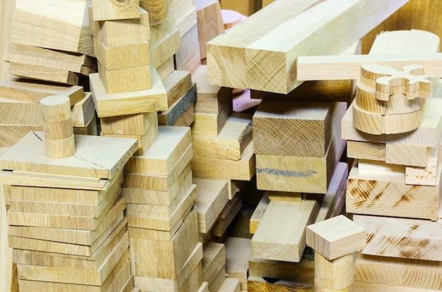 Magazijn hout. meubelworkshop