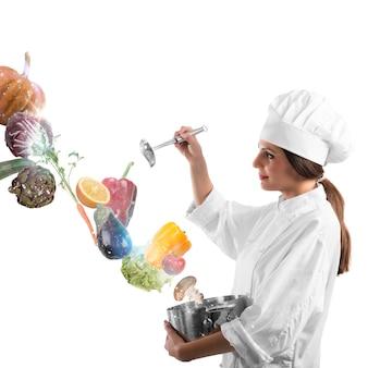 Magie bij het koken