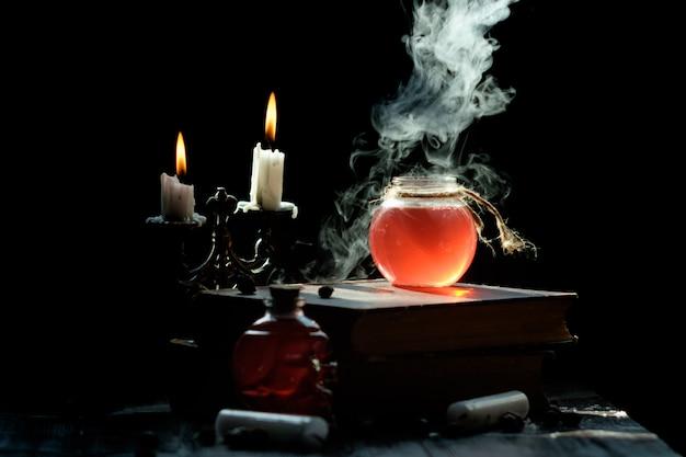 Magie en tovenarij concept.