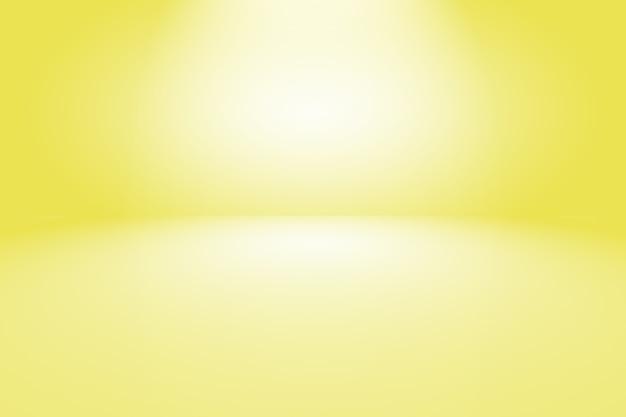 Magische abstracte zachte kleuren van glanzende gele achtergrond van de gradiëntstudio.