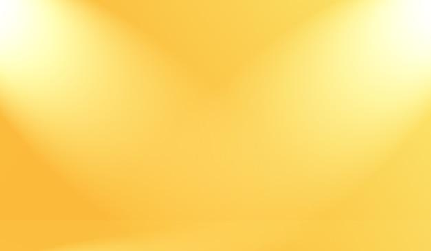Magische abstracte zachte kleuren van glanzende gele gradiëntstudio
