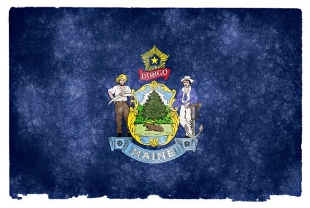 Maine grunge vlag