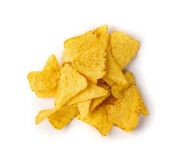 Maïschips, nachoschips, maïssnack, maischips of totopo's