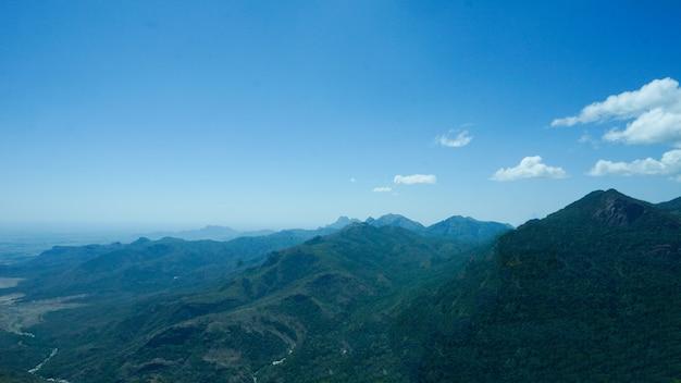 Majestic mountain view