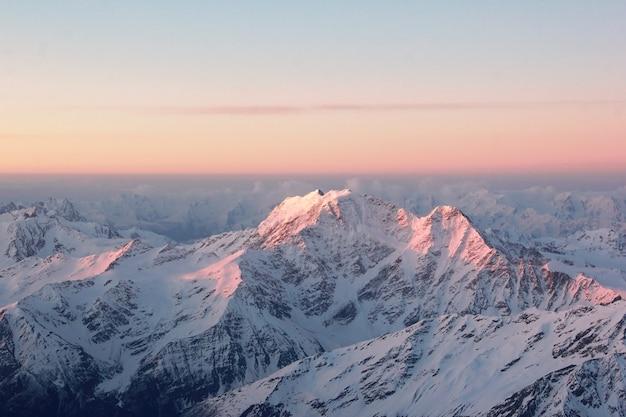 Majestueuze berg achtergrondgeluid
