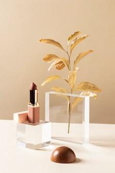 Make-up concept met lippenstift