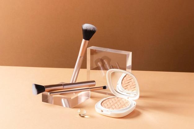 Make-up concept met penseel