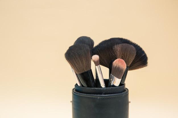 Make-up cosmetica en borstels