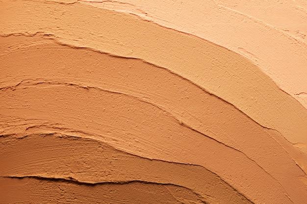 Make-up foundation smudge gestructureerde achtergrond