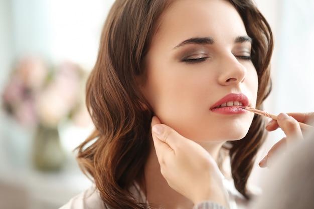 Make-up voorbereiding