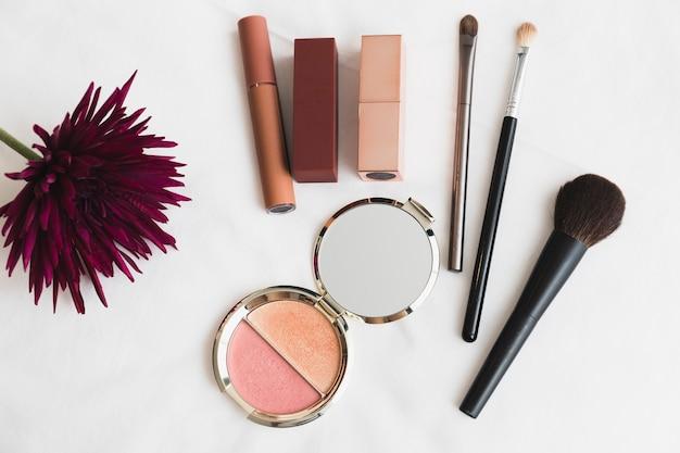Makeups levert in de buurt van aster