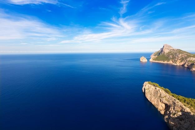 Mallorca mirador formentor cape mallorca eiland Premium Foto