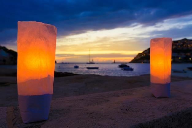 Mallorca port de andratx zonsondergang in mallorca