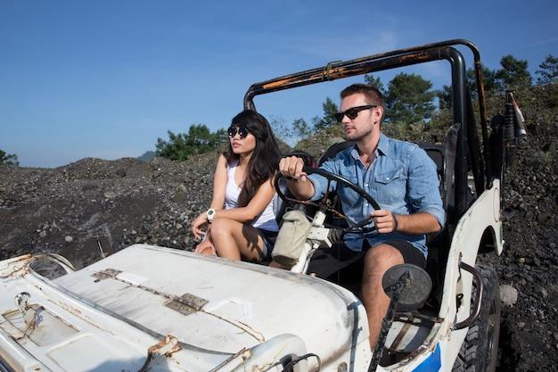 Man en vrouw avontuur