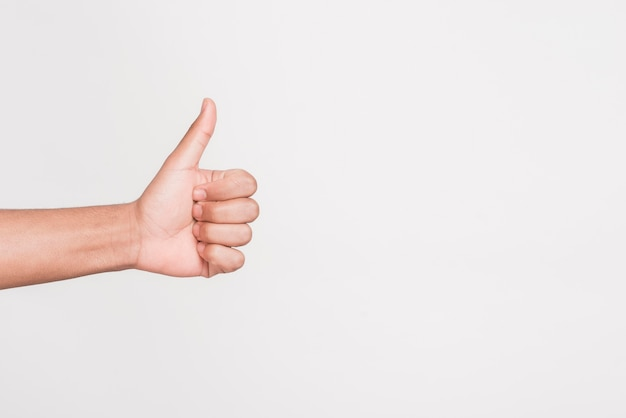 Man gebaren als symbool