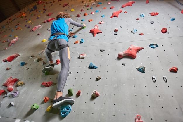 Man klimmen