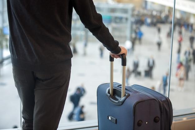Man met bagage