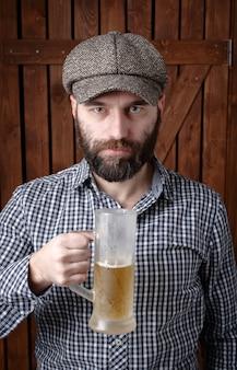 Man met bier